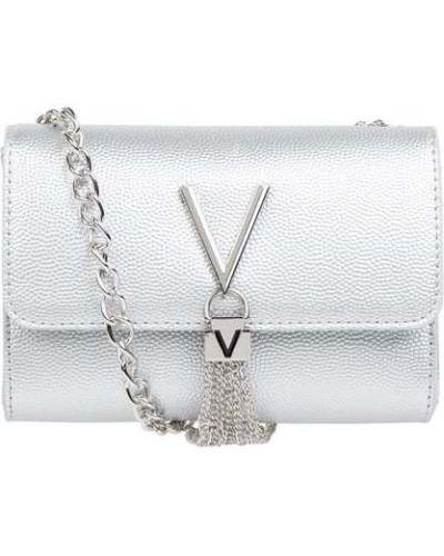 Torebka srebrna Valentino By Mario Valentino
