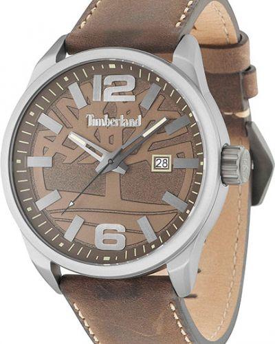 Часы водонепроницаемые с кожаным ремешком Timberland