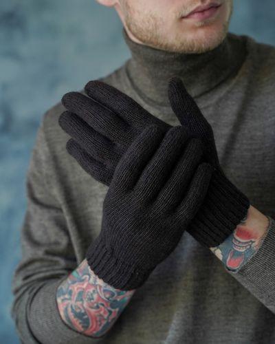 Шерстяные вязаные перчатки John Trigger