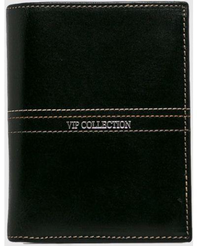 Кошелек кожаный на молнии Vip Collection