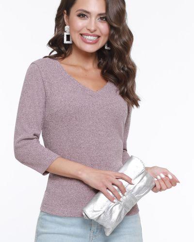 Вязаная с рукавами трикотажная блузка Dstrend