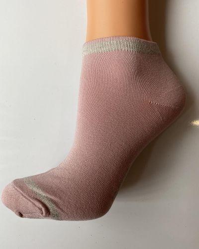 Носки с люрексом - розовые Accent
