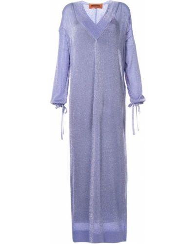 Платье с V-образным вырезом свободного кроя Missoni