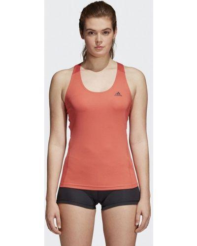 Майка спортивная красная Adidas