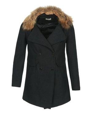 Czarny płaszcz przeciwdeszczowy Betty London