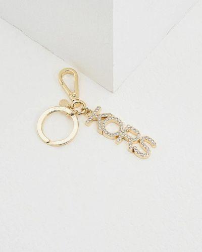 Ключница металлическая золотого цвета Michael Michael Kors