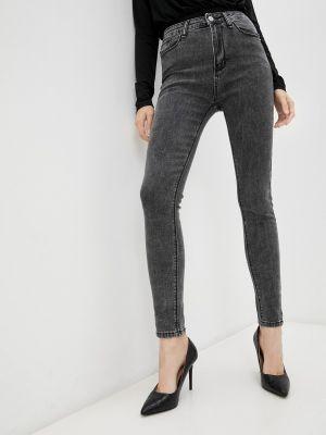Зауженные джинсы - серые Vitacci