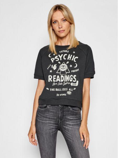 T-shirt - czarna Superdry