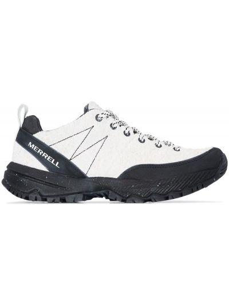 Czarne sneakersy skorzane sznurowane Merrell