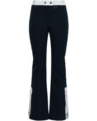 Spodnie z nylonu rozkloszowane Erin Snow