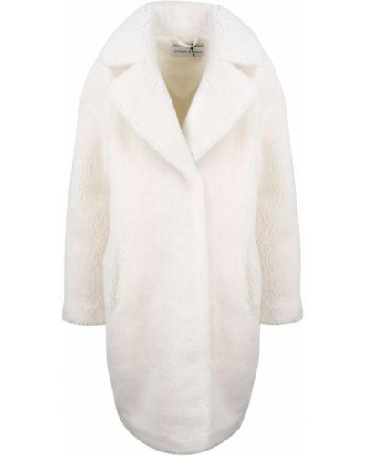 Biały płaszcz Stand Studio