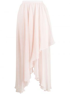 Spódnica asymetryczna - różowa Mara Hoffman