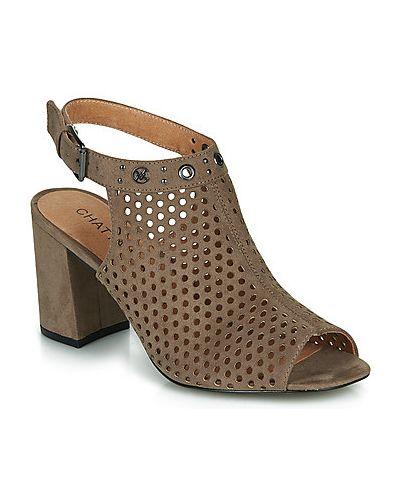 Beżowe sandały Chattawak