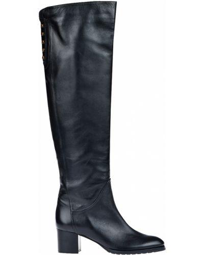 Ботфорты на каблуке кожаные Giorgio Fabiani