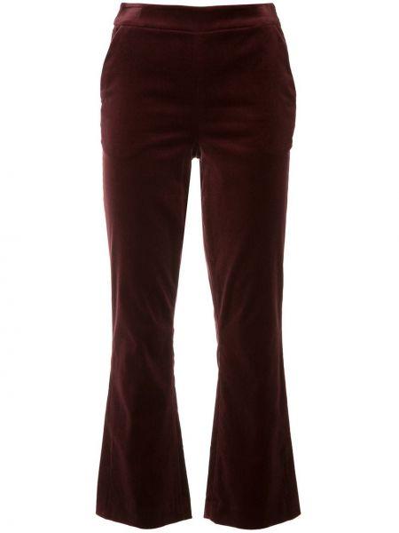Расклешенные укороченные брюки с поясом Frame