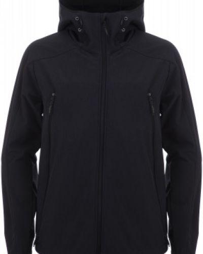 Куртка с капюшоном черная спортивная Outventure
