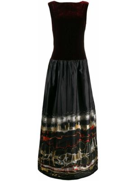Платье с открытой спиной винтажная Jean Paul Gaultier Pre-owned