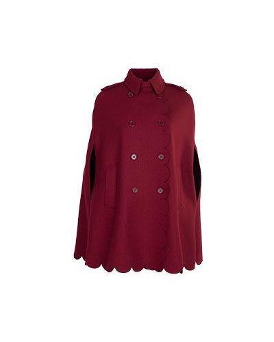 Красное пальто осеннее Valentino Red