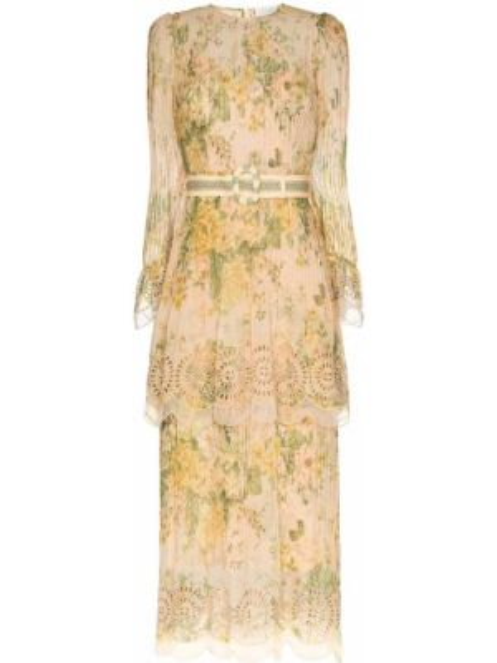Длинное платье Zimmermann