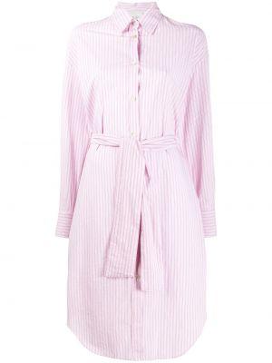 Платье макси длинное - розовое Forte Forte