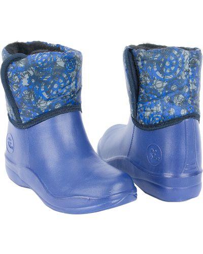 Сноубутсы синие Eva
