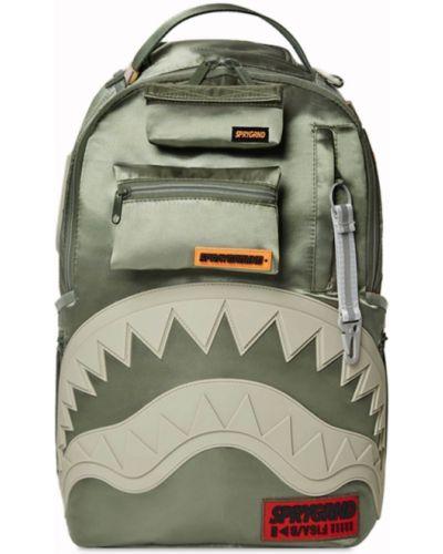 Рюкзак с принтом - зеленый Sprayground