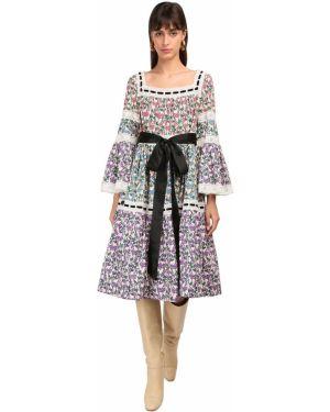 Платье миди деловое макси Marc Jacobs