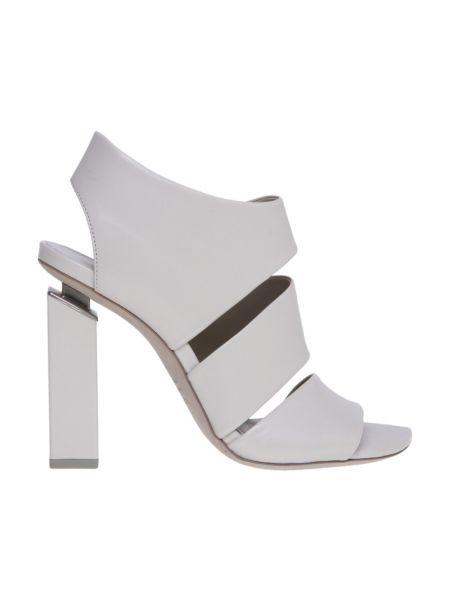 Białe sandały skorzane Vic Matie