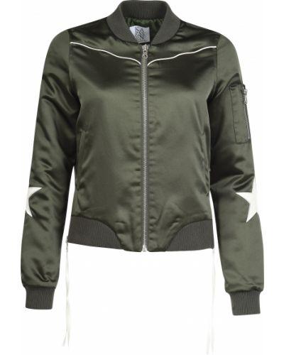 Куртка из полиэстера - зеленая Zoe Karssen