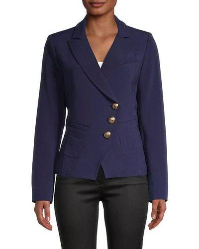 Удлиненный пиджак с подкладкой с заплатками на пуговицах Smythe