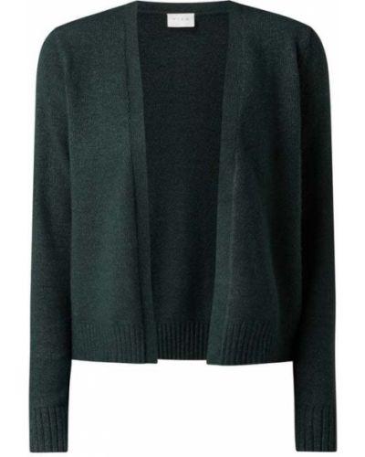 Zielony sweter bez zapięcia Vila