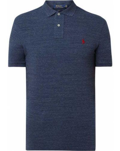 Bawełna bawełna niebieski t-shirt Polo Ralph Lauren