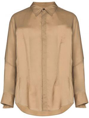 Beżowa koszula Sulvam