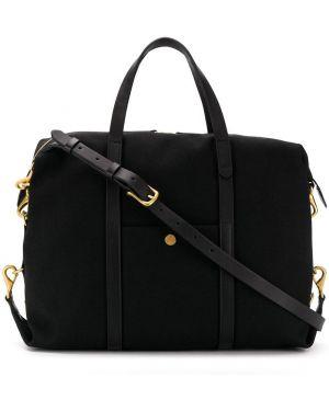 Черная сумка на плечо Mismo