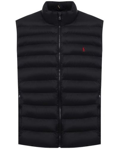 Черная жилет утепленный Polo Ralph Lauren