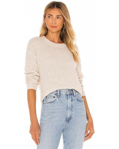 Klasyczny beżowy sweter wełniany Splendid
