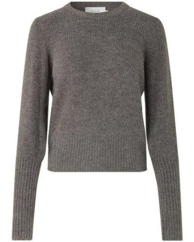Szary sweter Munthe