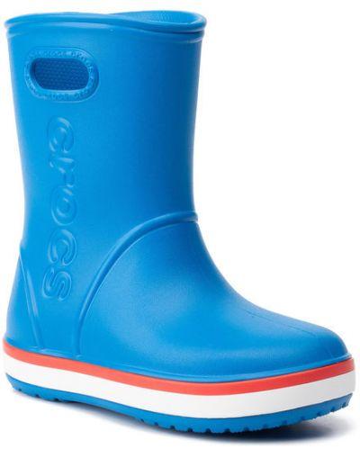 Niebieskie kozaki Crocs