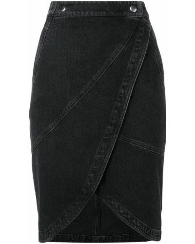 Юбка миди с запахом джинсовая Givenchy