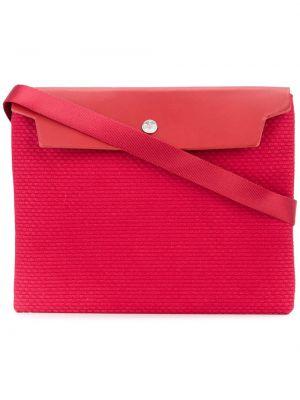 Красная сумка на плечо Cabas