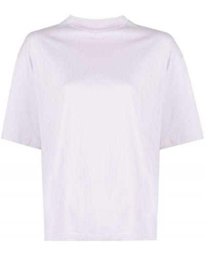 Трикотажная прямая футболка с вырезом Acne Studios