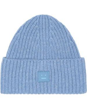 Шерстяная синяя шляпа Acne Studios Kids
