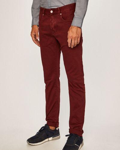 Прямые джинсы с карманами красный Scotch & Soda