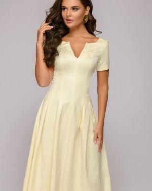 Вечернее платье с декольте макси 1001 Dress