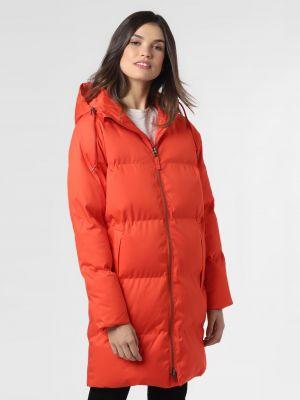 Czerwony płaszcz pikowany Derbe