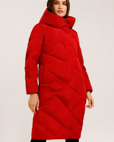 Пуховик-пальто - красный Finn Flare