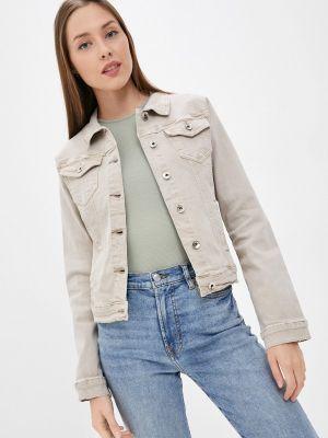 Джинсовая куртка - бежевая Softy