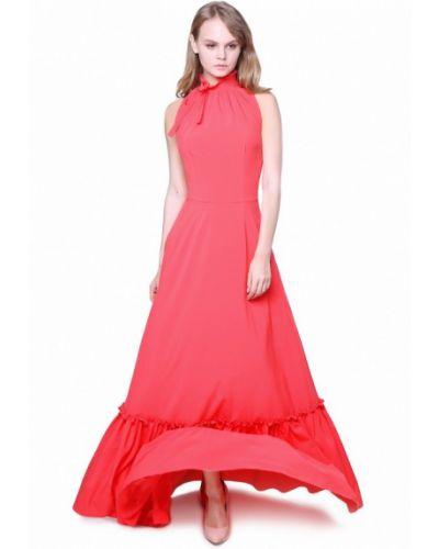 Вечернее платье коралловый красный Marichuell