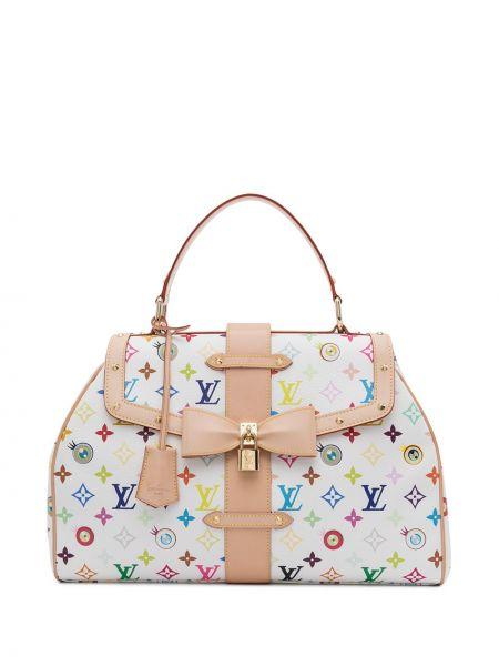 Biała torebka skórzana vintage Louis Vuitton
