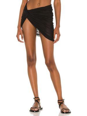 Текстильная черная юбка сетчатая Lovewave